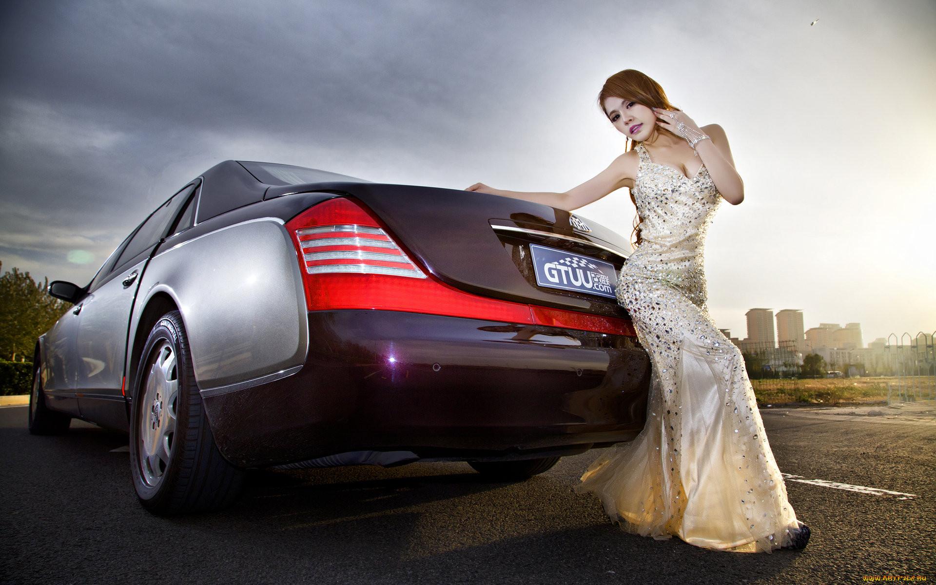 Картинки дорогих автомобилей с девушками